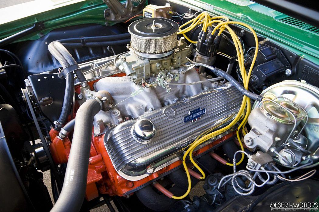 1969 Chevrolet Super Camaro' 427 muscle classic wallpaper