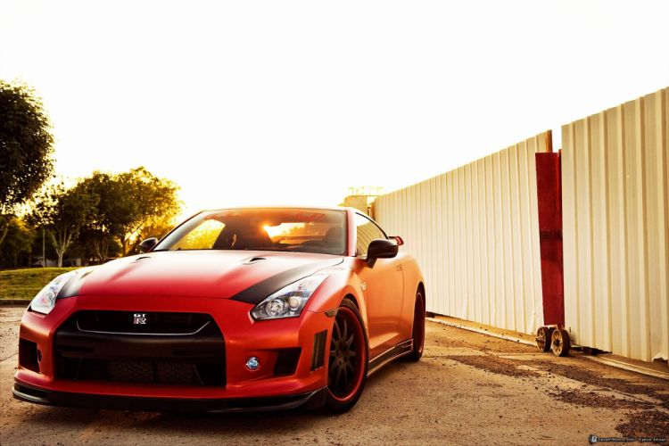2009 Vivid-Racing Nissan GT-R race tuning supercar racing gtr wallpaper