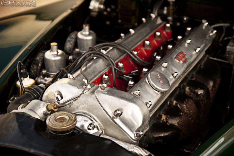 1954 Jaguar XK120 Roadster luxury retro wallpaper