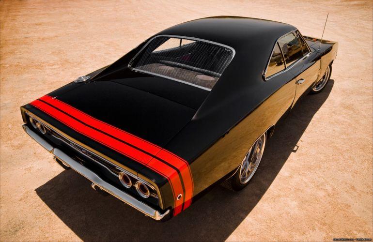 1968 Dodge Charger R-T mopar muscle hot rod rods classic wallpaper