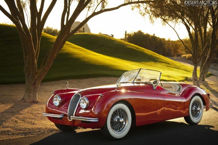 1954 Jaguar XK120 S-E Roadster retro luxury wallpaper