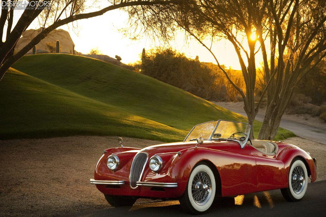 1954 jaguar xk120 s-e roadster retro luxury wallpaper | 1920x1279