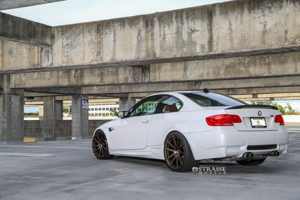 Strasse Wheels BMW-M3 e90 coupe cars wallpaper