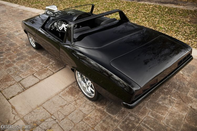 1969 Chevrolet Camaro Roadster custom hot rod rods muscle classic wallpaper