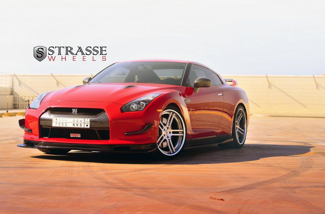 Strasse Wheels GT-R nissan cars coupe wallpaper