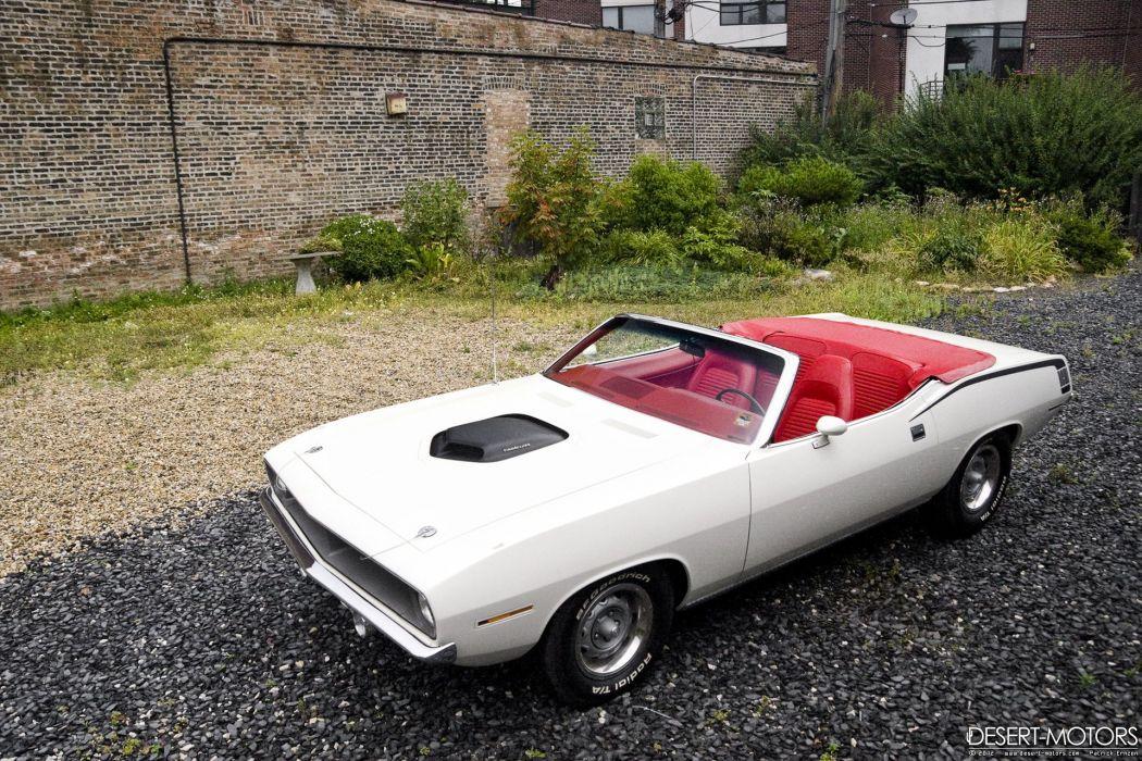 1970 Plymouth Hemi Cuda Convertible muscle classic barracuda wallpaper