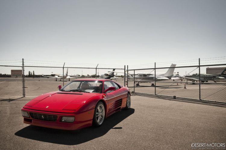 1992 Ferrari 348 T-B supercar wallpaper