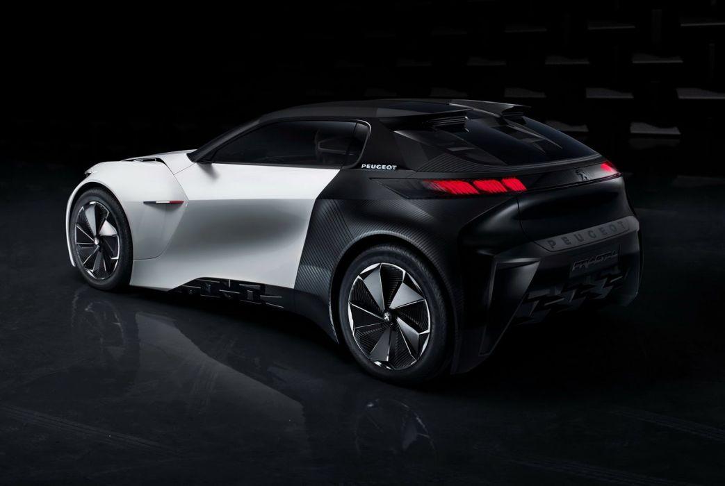 Peugeot Fractal Coupe Hatch Convertible Concept 2015 wallpaper