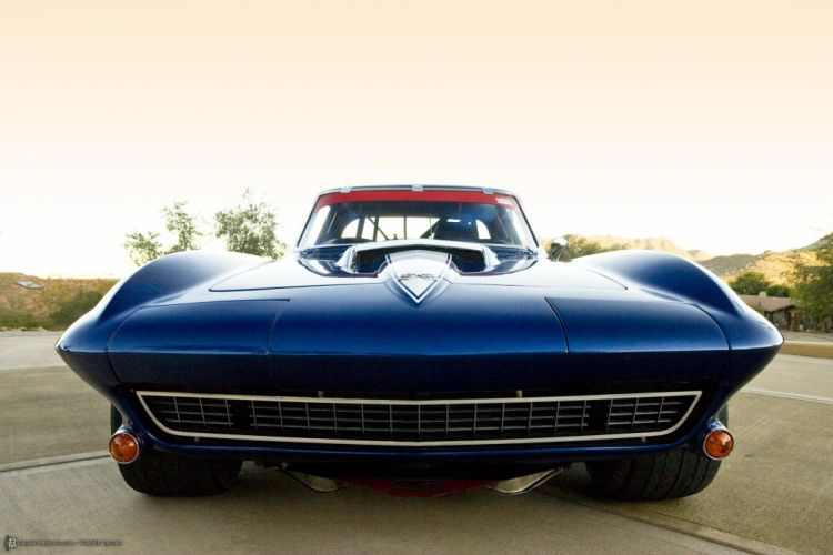 1967 Chevrolet Corvette 427 435HP Tri-power Coupe Pickett Race racing hot rod rods muscle supercar classic wallpaper