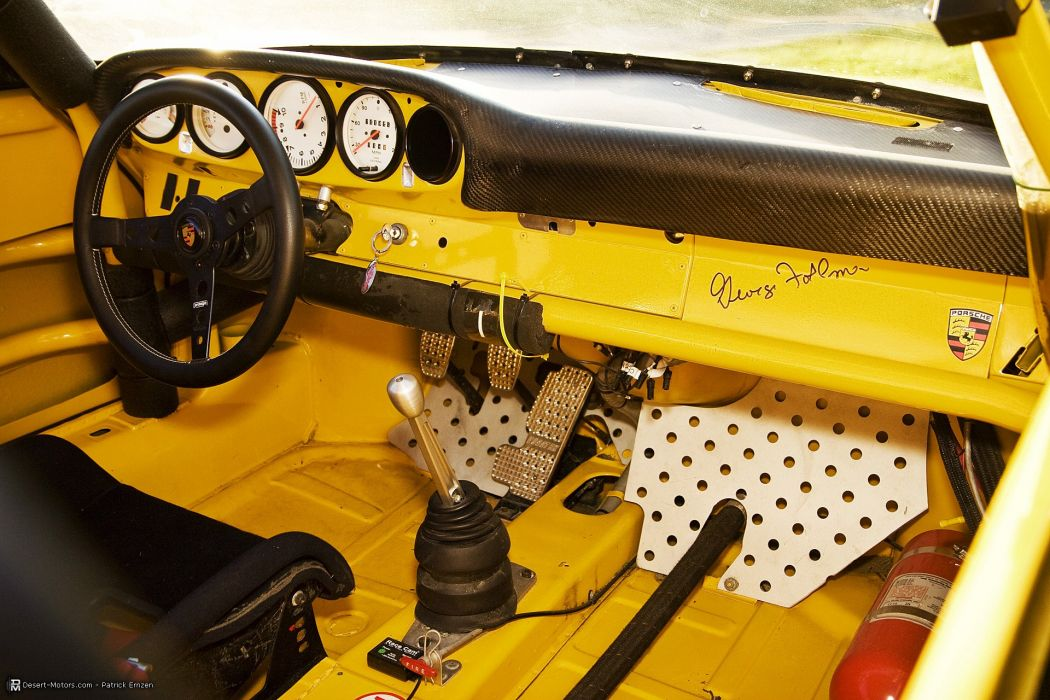 1973 Porsche 911 RSR IROC Race racing supercar classic wallpaper
