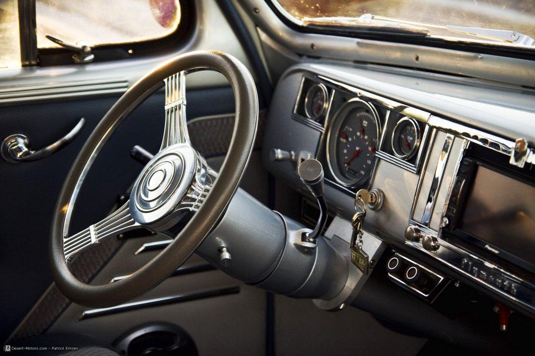 1940 Plymouth 2-Door Coupe Custom hot rod rods retro wallpaper