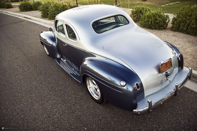 1940 Plymouth 2-Door Coupe Custom hot rod rods retro wallpaper