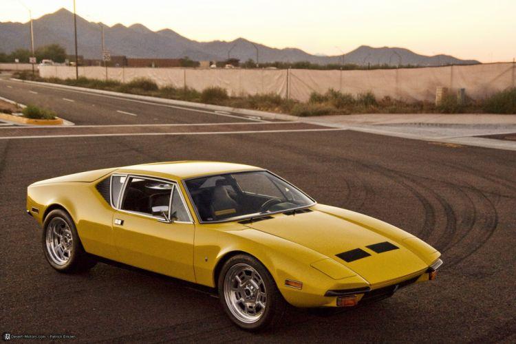 1972 De Tomaso Pantera classic supercar wallpaper