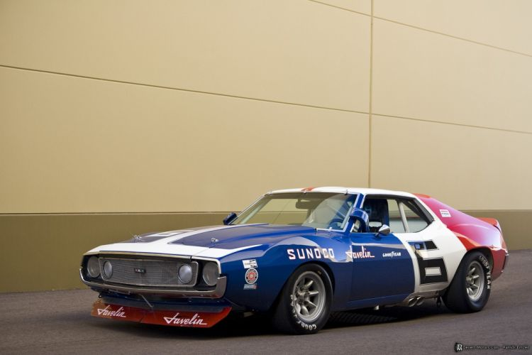 1971 Trans Am AMC Javelin race racing muscle hot rod rods trans-am amx wallpaper