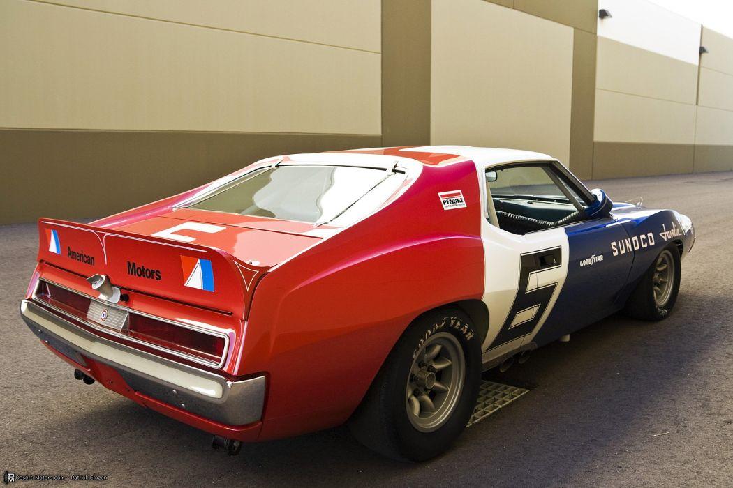 1971 Trans Am AMC Javelin race racing muscle hot rod rods trans-am amx wallpaper