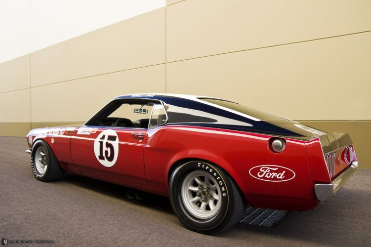 1969 Ford Boss 302 Trans Am Race Car Parnelli racing hot rod rods muscle trans-am wallpaper