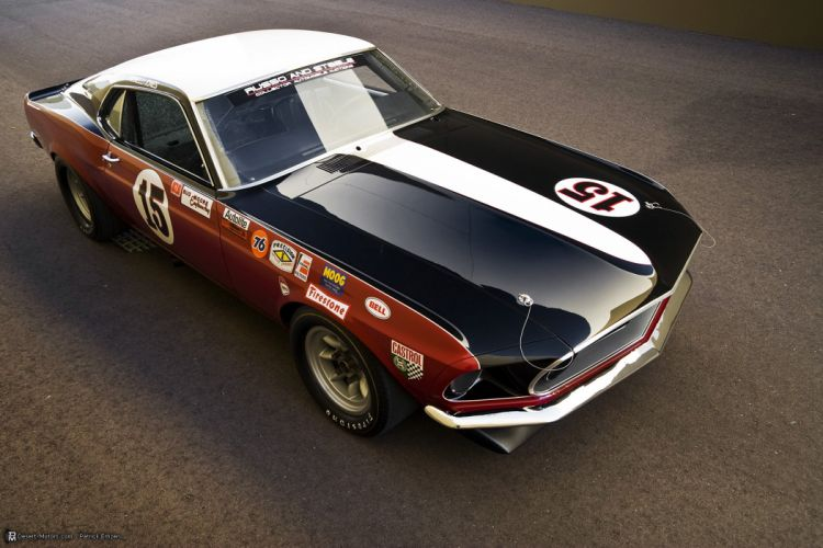 1969 Ford Boss 302 Trans Am Race Car Parnelli racing hot rod rods muscle trans-am wallpaper
