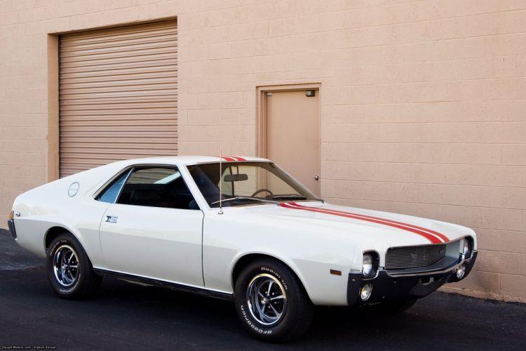 1969 American Motors AMX amc muscle classic wallpaper