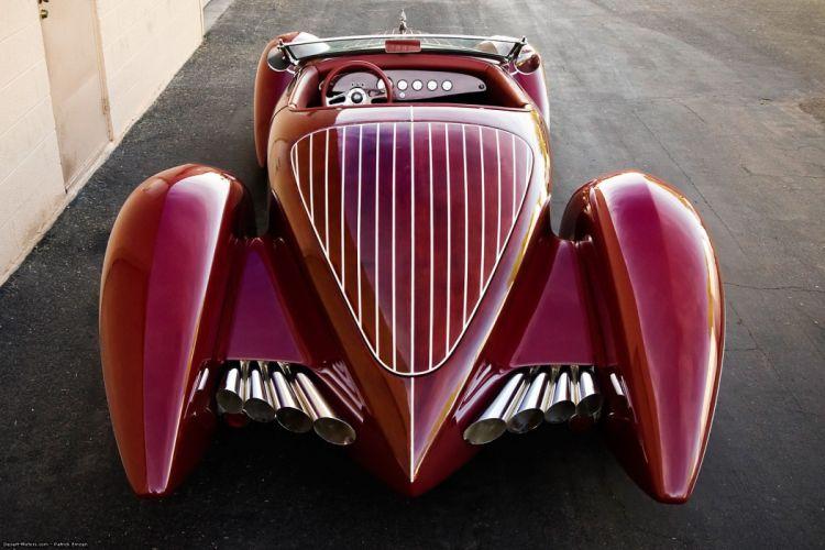 1937 Foose Custom Studebaker Convertible hot rod rods vintage wallpaper