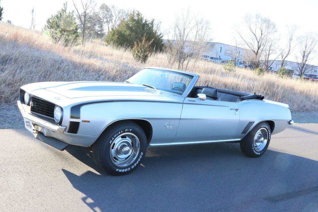 1969 chevy chevrolet Camaro-ss Convertible coupe 350 wallpaper