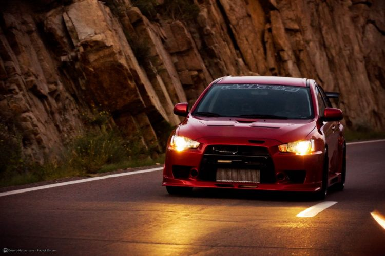 2008 Vivid-Racing Mitsubishi Lancer Evolution X race racing tuning wallpaper