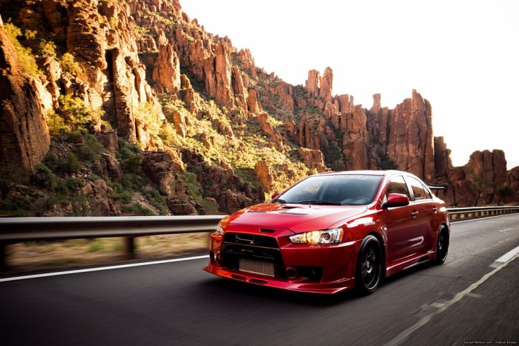 2008 Vivid-Racing Mitsubishi Lancer Evolution X race racing tuning wallpaper