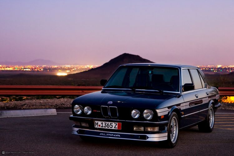 1982 BMW Alpina B9 E28 Tribute wallpaper