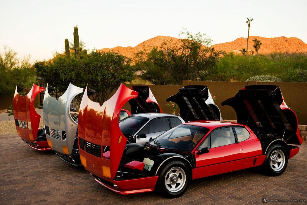 1984 Ferrari 512 BBi supercar wallpaper