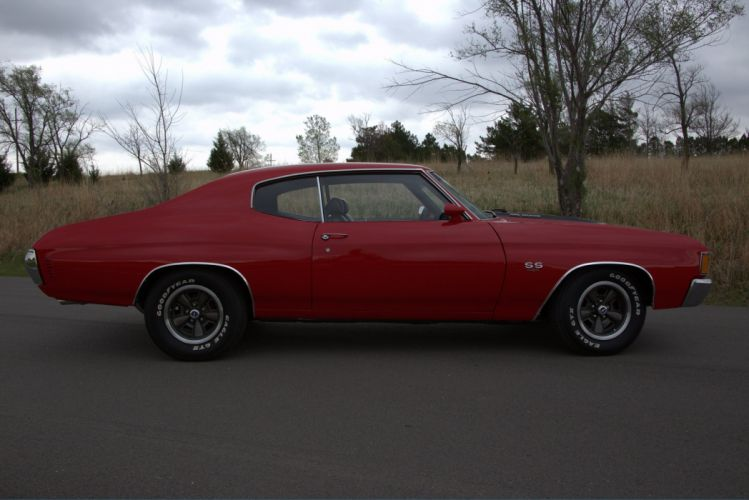 1972 chevy chevelle coupe cars wallpaper