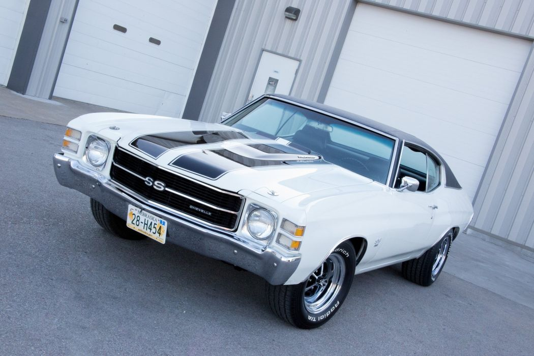 1971 chevy chevelle coupe cars wallpaper