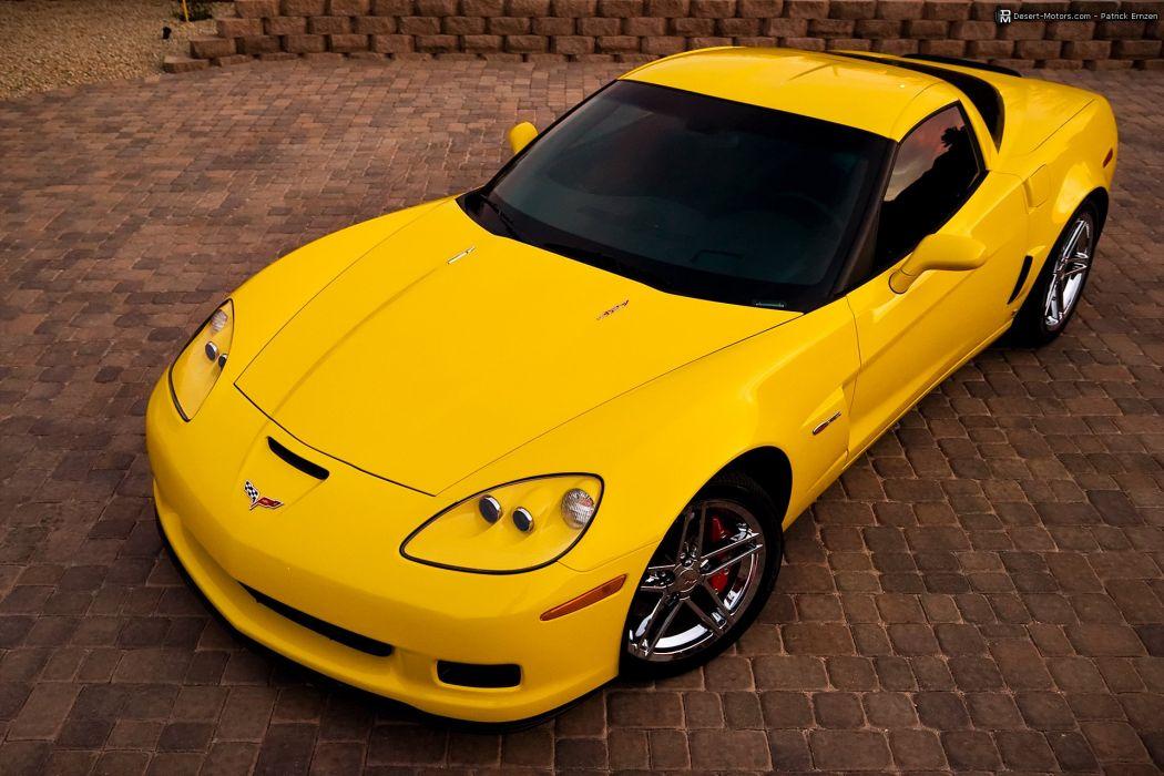 2008 Chevrolet Corvette Z06 muscle supercar wallpaper
