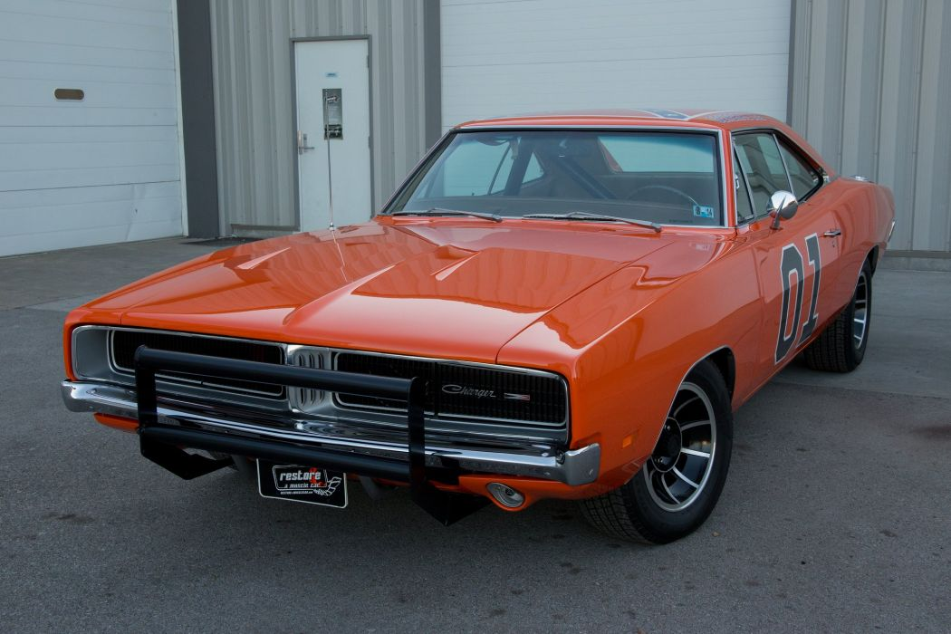 1969 dodge charger general lee coupe cars wallpaper