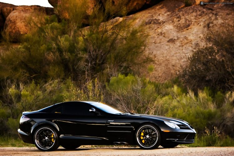 2005 Mercedes Benz SLR McLaren supercar wallpaper