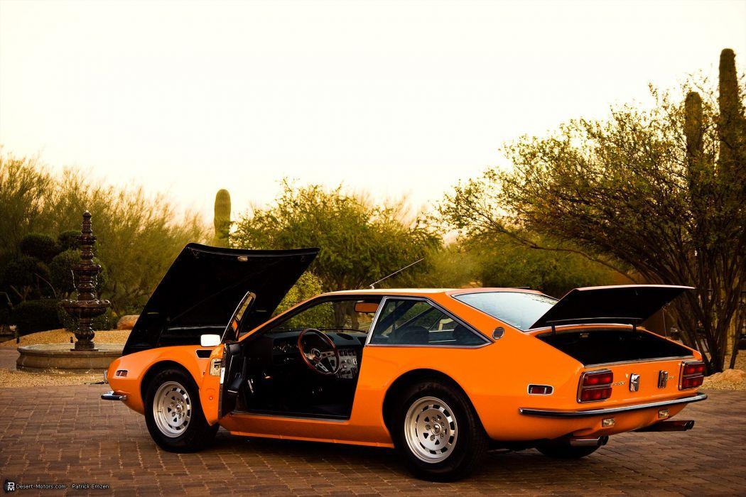 1973 Lamborghini Jarama Gts Classic Supercar Wallpaper 1920x1280