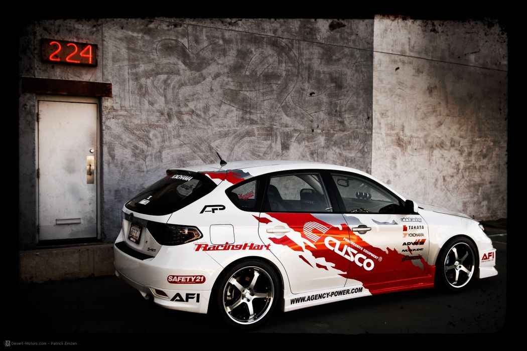 2008 Vivid-Racing Subaru WRX race racing tuning wallpaper
