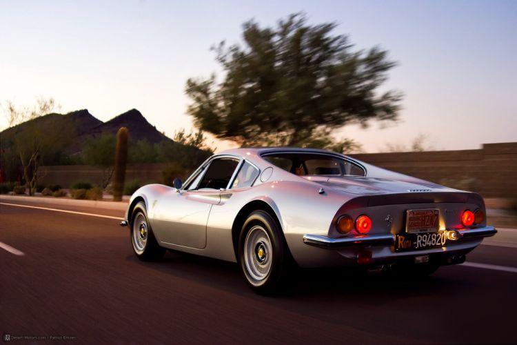 1971 Dino 246 G-T classic supercar wallpaper