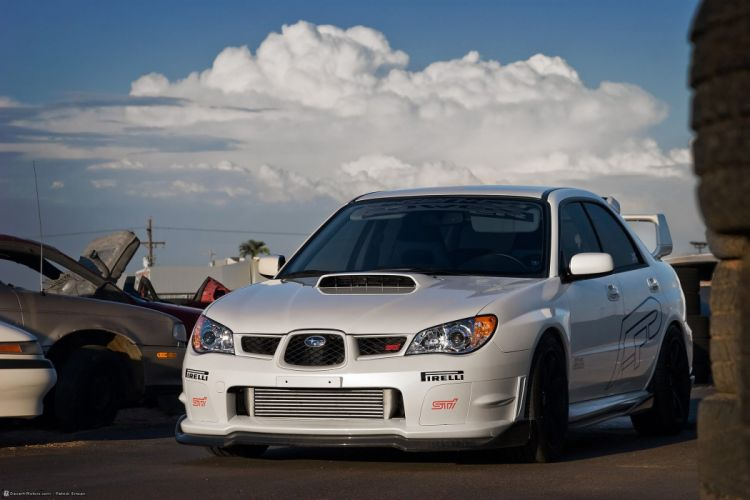 2007 Agency-Power Subaru WRX STi tuning wallpaper