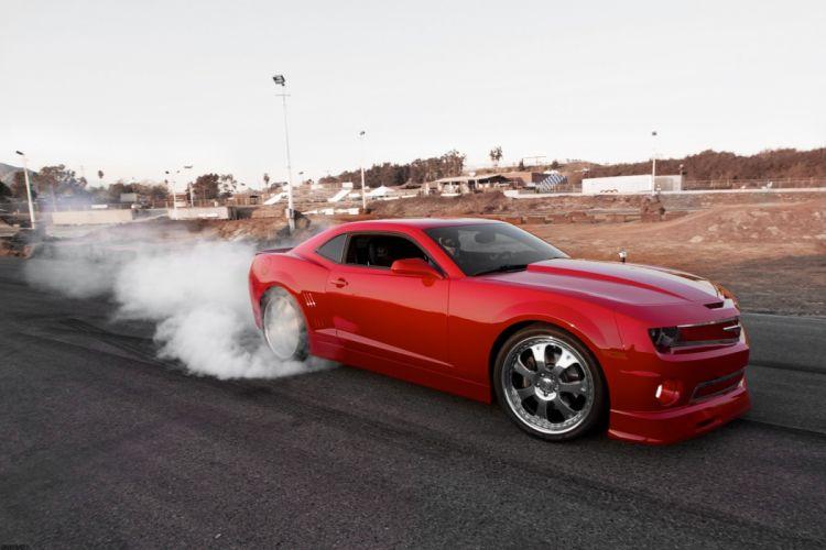 2010 Chevrolet Camaro muscle tuning custom hot rod rods wallpaper