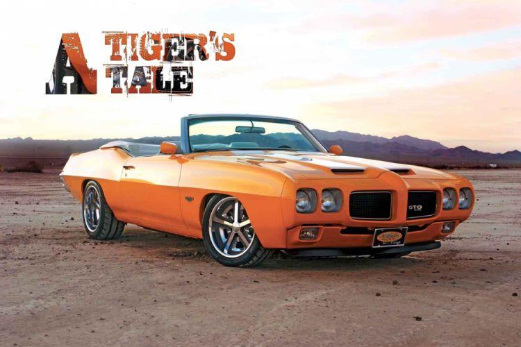 Pontiac GTO muscle convertible custom hot rod rods wallpaper