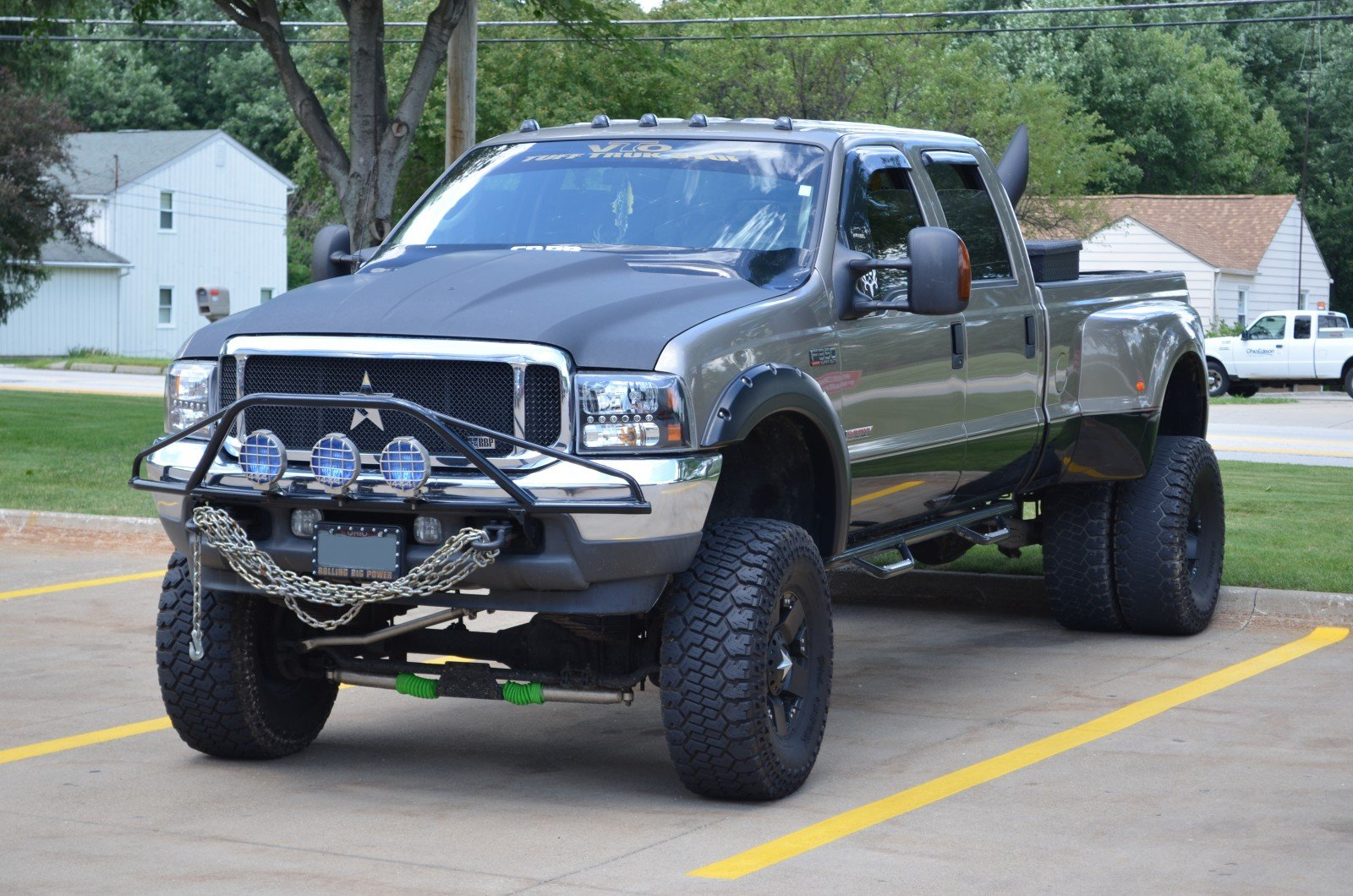 Ford F-350 Diesel 4x4 custom pickup truck f350 wallpaper ...