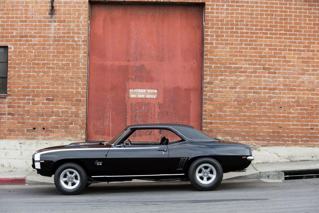1969 Baldwin-Motion Chevrolet S-S 427 Camaro muscle classic custom hot rod rods wallpaper