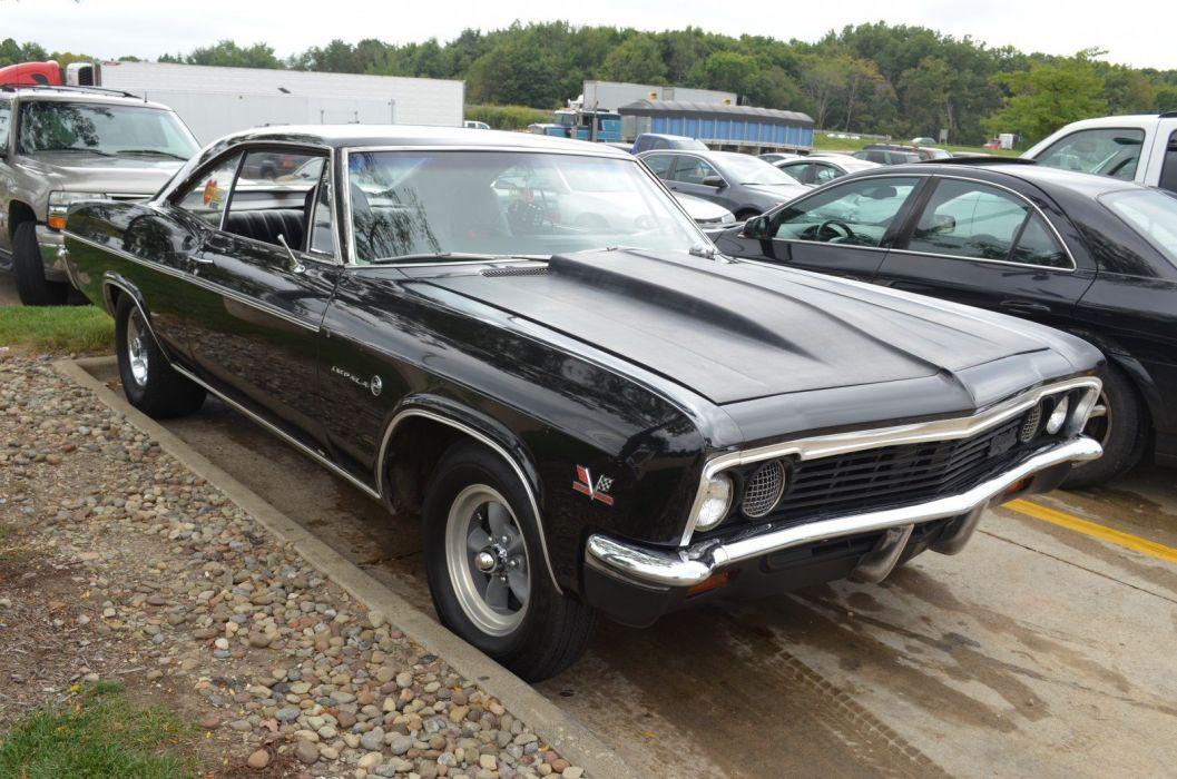 1966 Chevrolet Impala muscle classic hot rod rods custom wallpaper