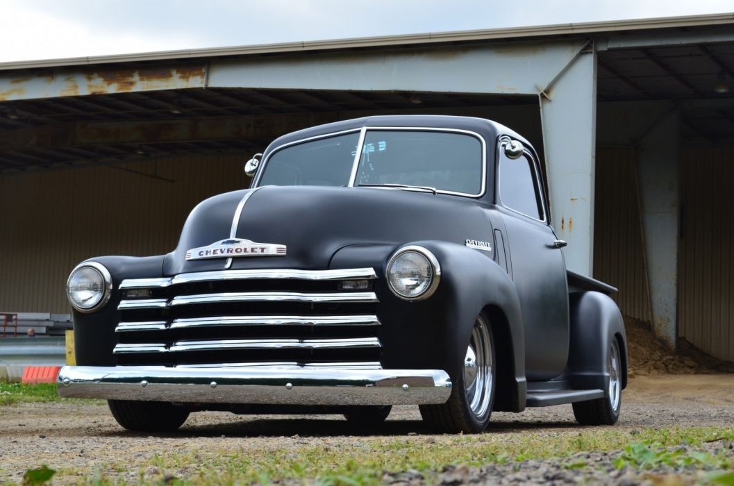 1949 Chevrolet 3100 custom pickup truck retro hot rod rods wallpaper