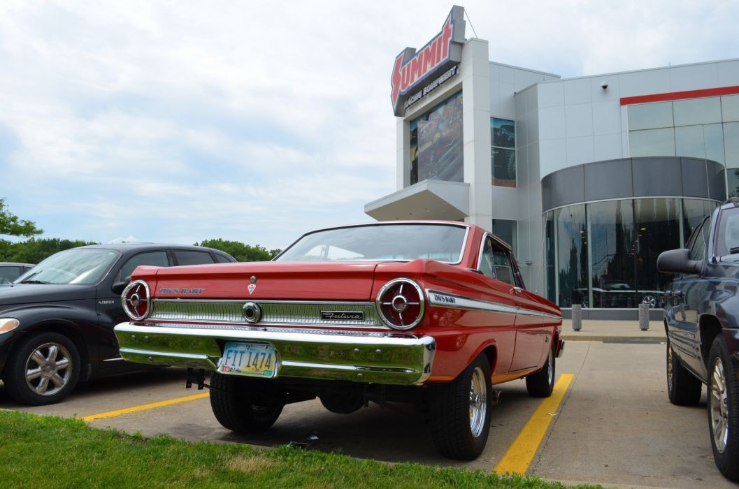 1965 Ford Falcon Futura muscle classic custom hot rod rods wallpaper