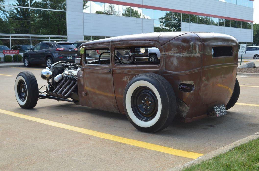1928 Ford Rat Rod hot rods custom vintage wallpaper