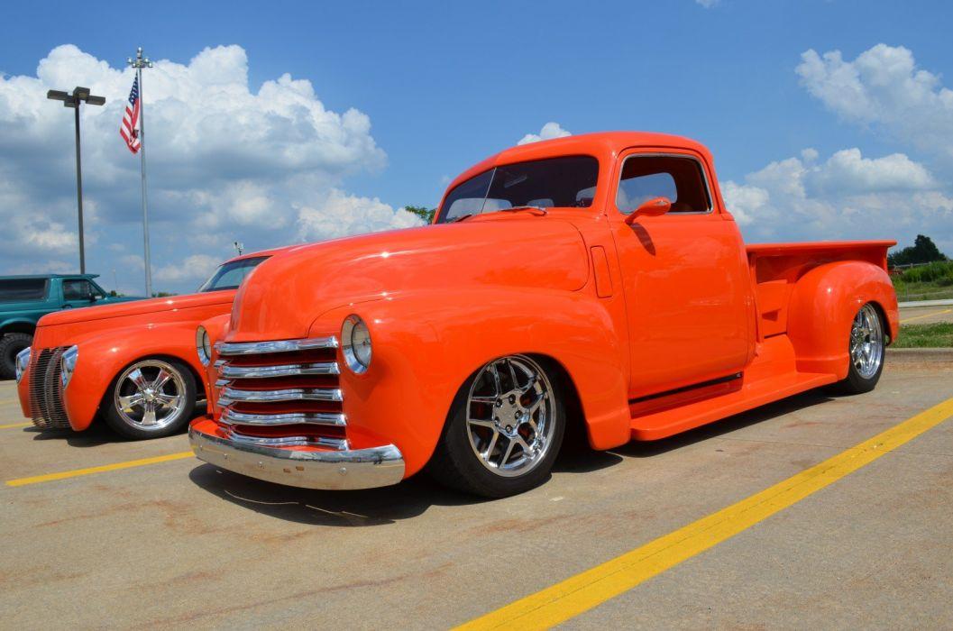 1948 Chevrolet Pickup truck custom hot rod rods retro wallpaper