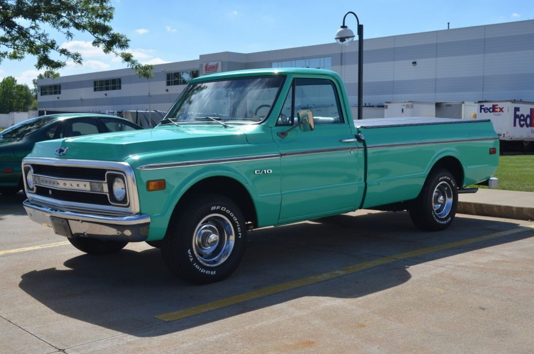 1969 Chevrolet C10 Pickup muscle classic truck wallpaper