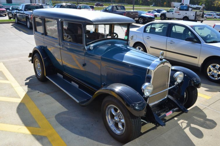 1927 Willys Overland custom hot rod rods vintage wallpaper