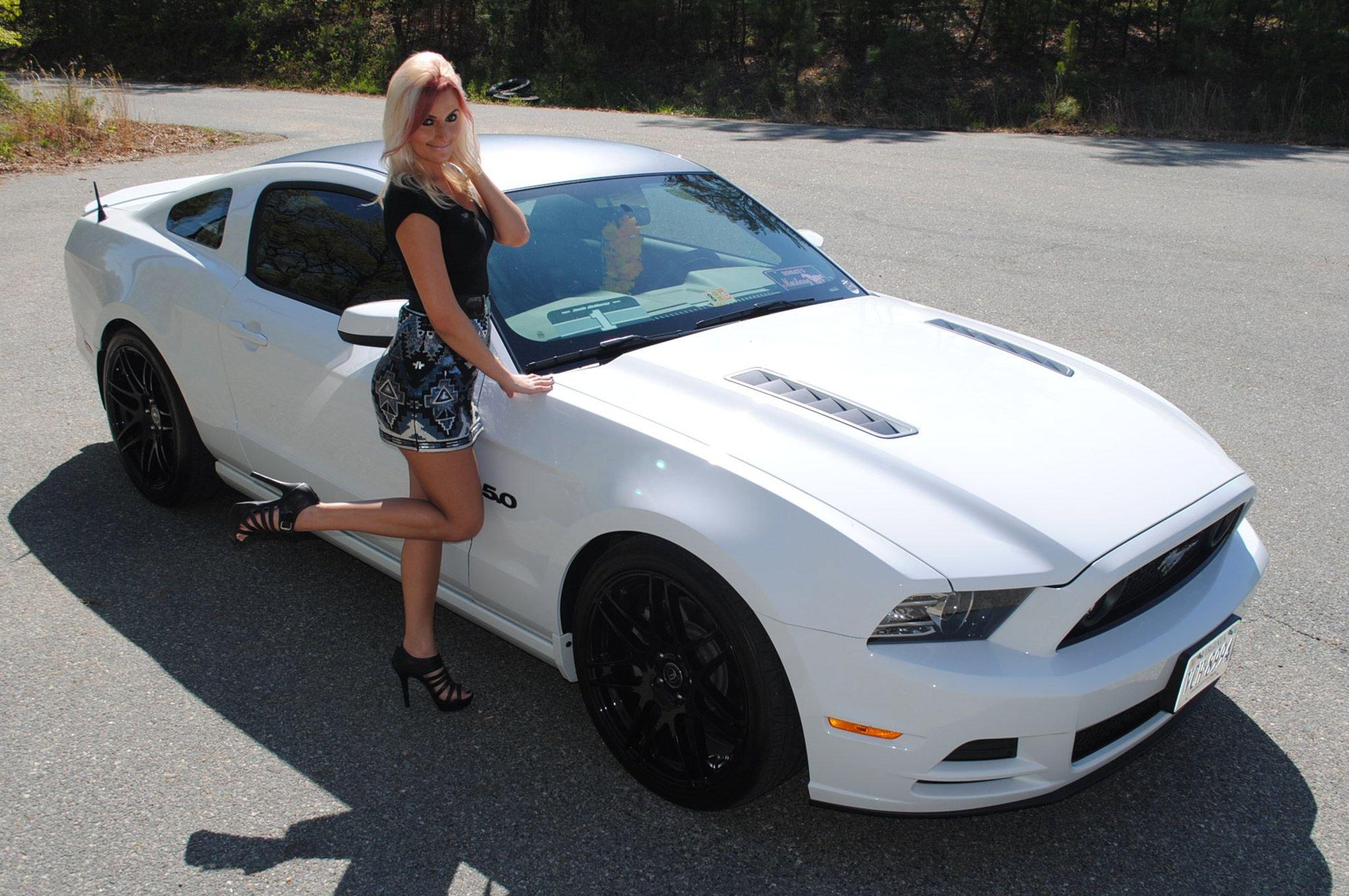 Ford Mustang Supercar Superstreet Ashley Arrington Babe Girl