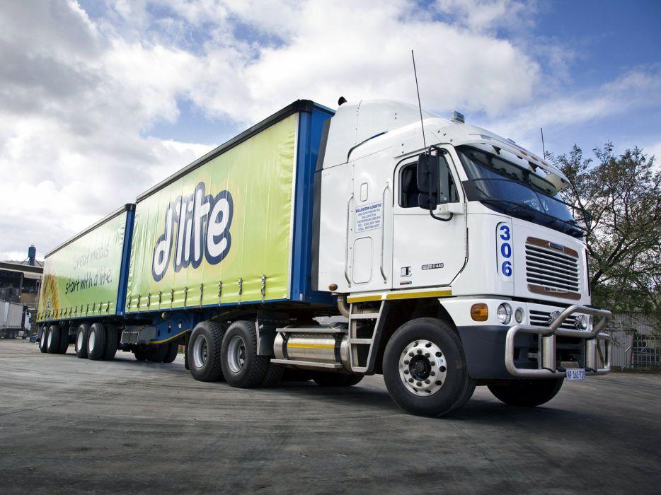 FREIGHTLINER semi tractor transport truck wallpaper
